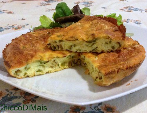 Frittata al forno con zucchine e friggitelli (ricetta secondo)
