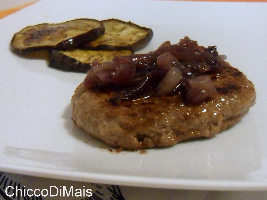 hamburger con cipolle caramellate (ricetta facile) - Come Cucinare Hamburger Di Carne