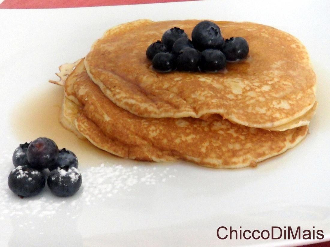 Conosciuto Pancakes (ricetta colazione americana) UA51