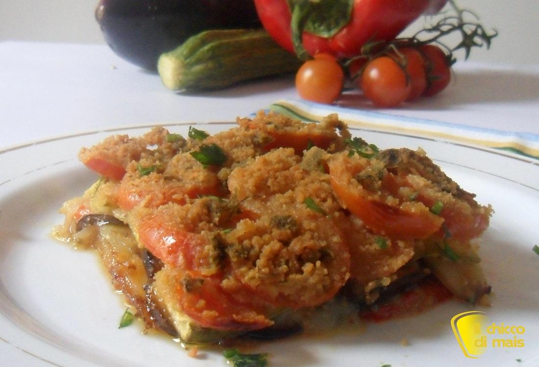 Ricette con melanzane facili e veloci il chicco di mais timballo di verdure