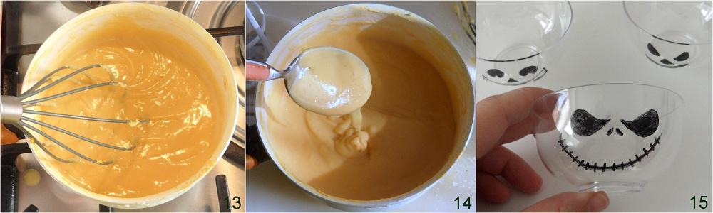 Budino di zucca ricetta dolce di Halloween il chicco di mais 5