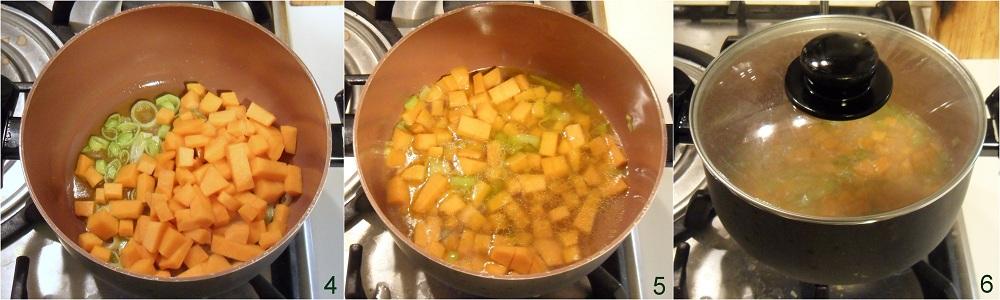 Crema di zucca con ceci ricetta autunnale il chicco di mais 2