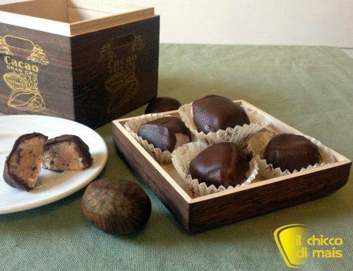 Dolcetti alle castagne e cioccolato (ricetta fingerfood)