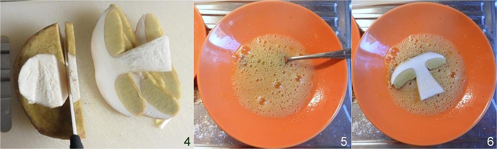 Funghi porcini fritti ricetta fingerfood il chicco di mais 2