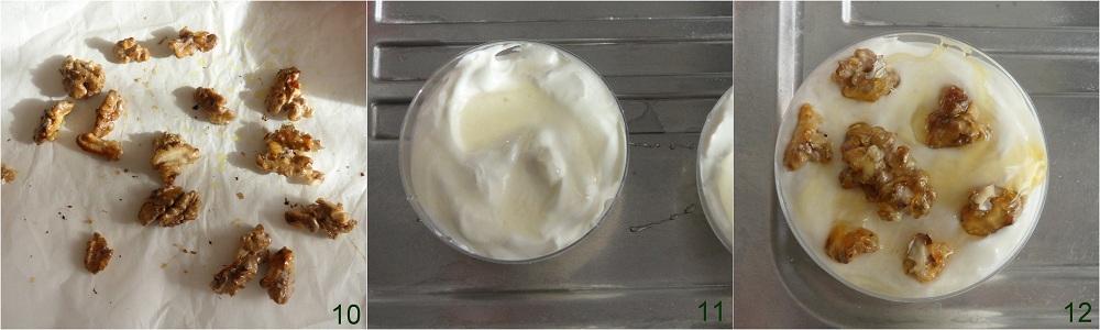 Mousse di yogurt con miele e noci pralinate ricetta dolce il chicco di mais 4