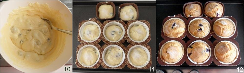 Muffin ai mirtilli ricetta americana il chicco di mais 4