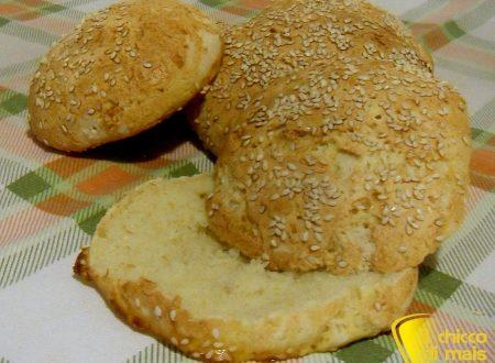 Panini al sesamo senza glutine (ricetta con LM)