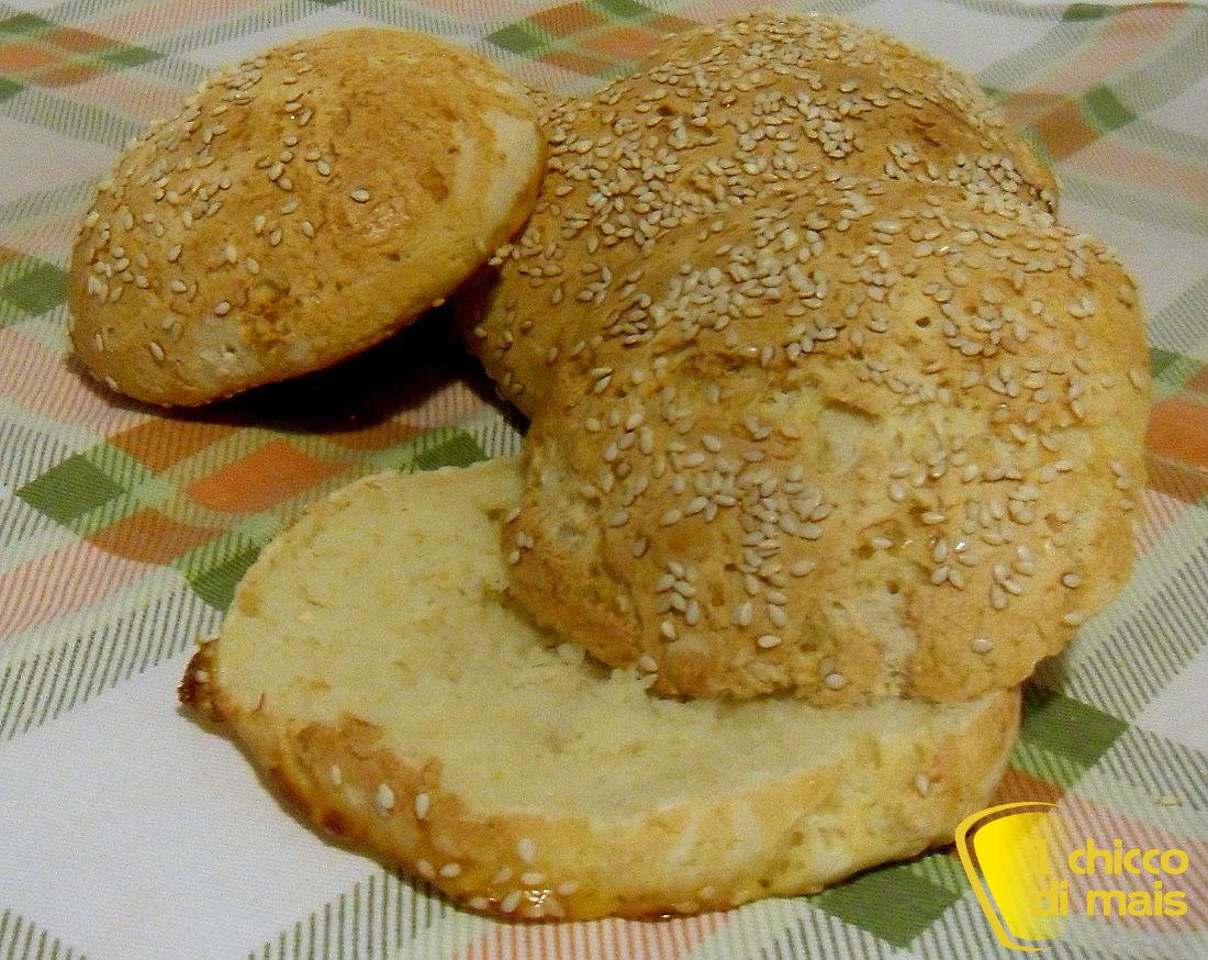 Panini al sesamo senza glutine ricetta con LM il chicco di mais