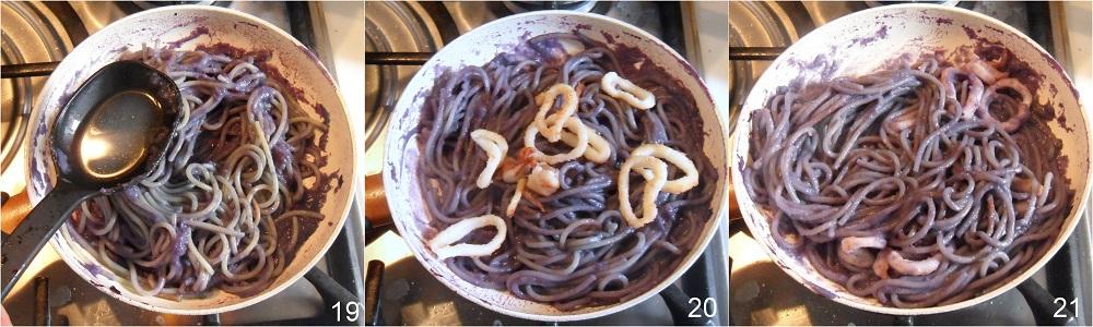 Pasta con cavolo rosso e calamari ricetta di pesce il chicco di mais 7