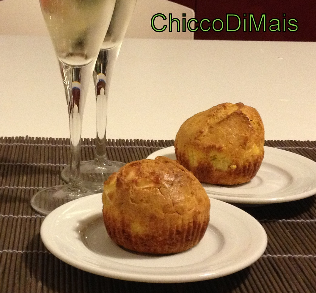Raccolta di ricette con la zucca dolci e salate Muffin-salati-con-zucca-e-brie il chicco di mais