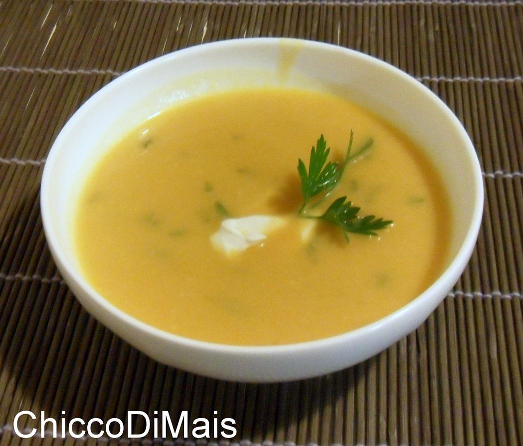 Raccolta di ricette con la zucca dolci e salate Vellutata-di-zucca-il-chicco-di-mais