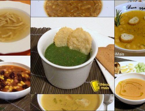 Raccolta di ricette in pdf: Zuppe e minestre