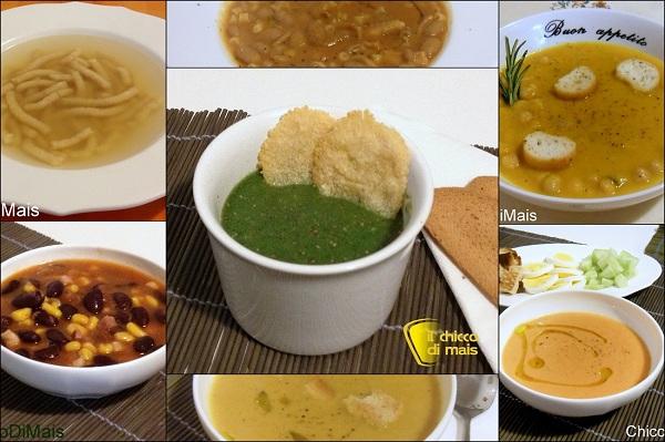 Raccolta di ricette in pdf zuppe e minestre il chicco di mais