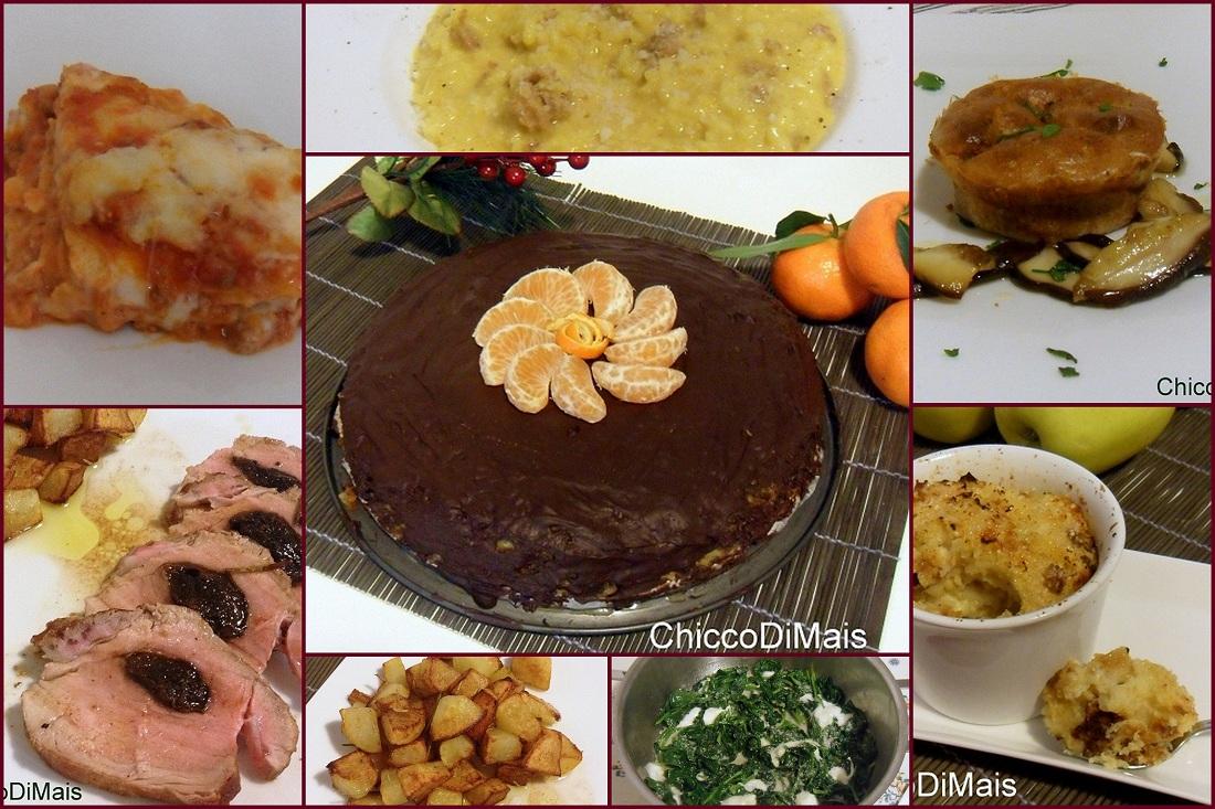 Ricettario in pdf menu per il pranzo di natale o capodanno - Menu per ospiti a pranzo ...