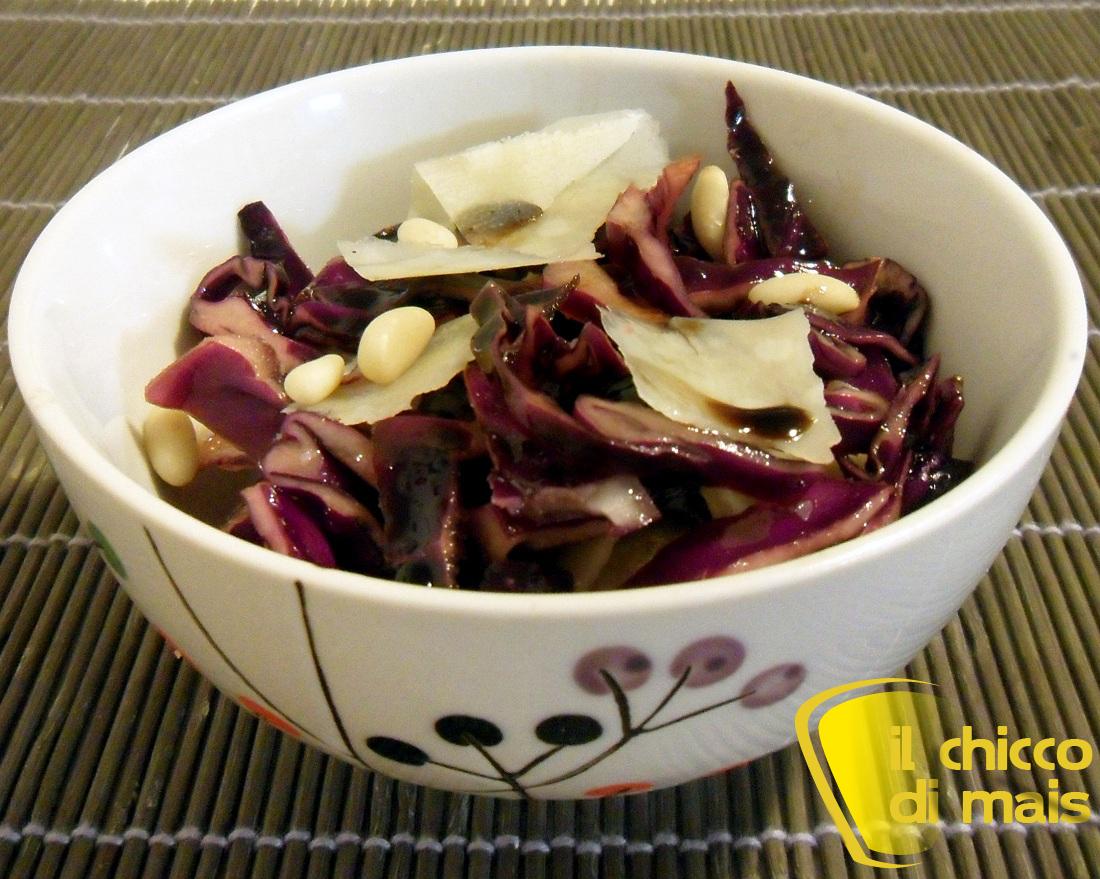 10 antipasti per Natale 2013 Insalata di cavolo rosso il chicco di mais