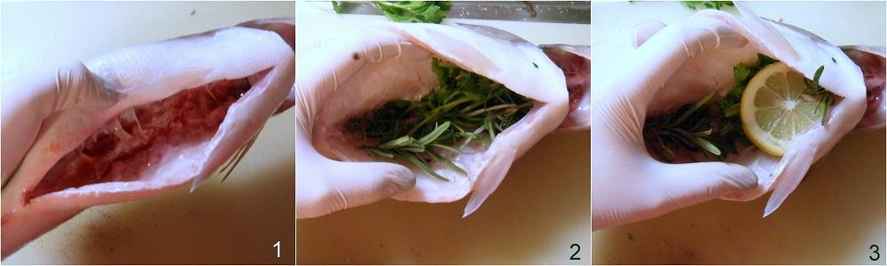 Pesce al cartoccio con aromi ricetta semplice il chicco di mais 1