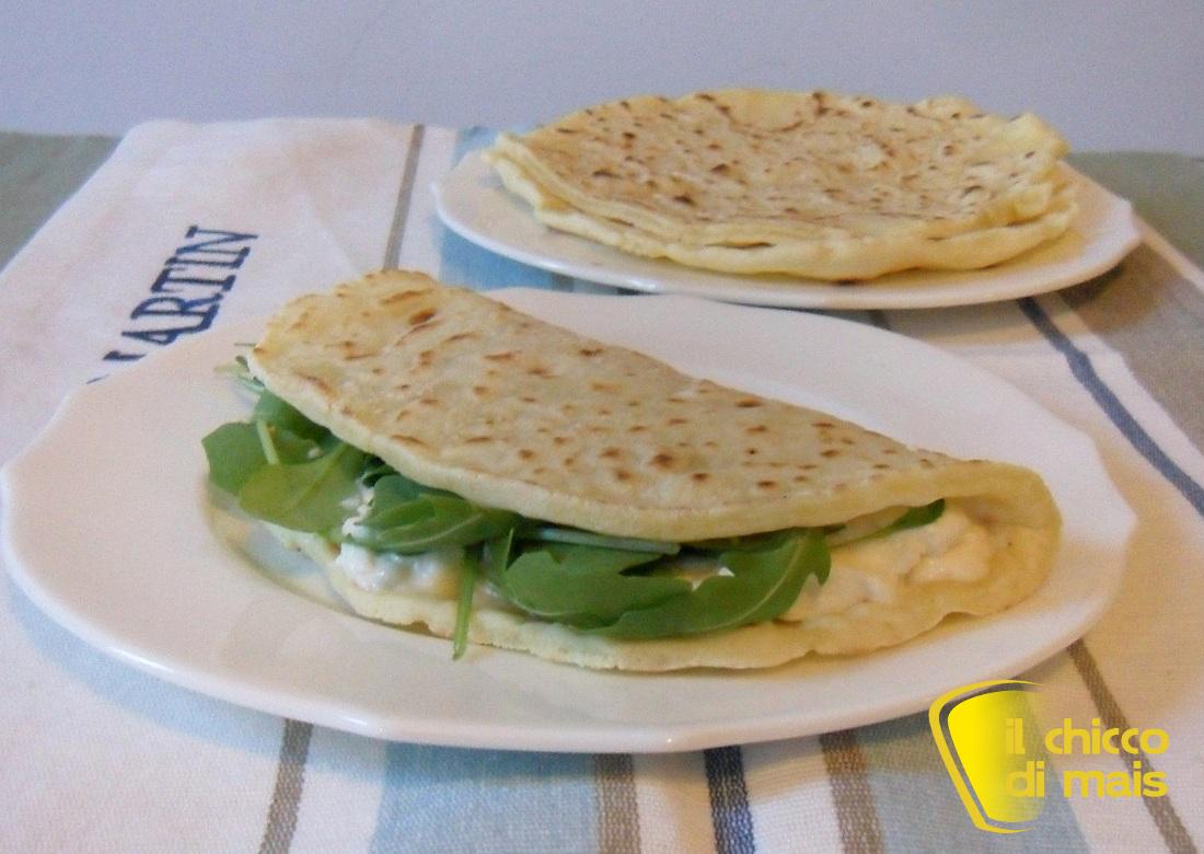 Piadine senza glutine con esubero di pasta madre ricetta il chicco di mais