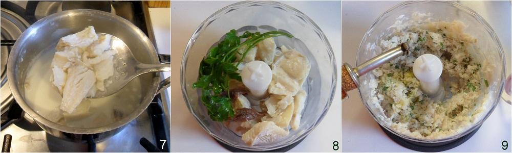 Polenta fritta con crema di baccalà ricetta antipasto il chicco di mais 3