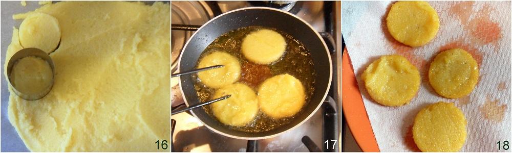 Polenta fritta con crema di baccalà ricetta antipasto il chicco di mais 6