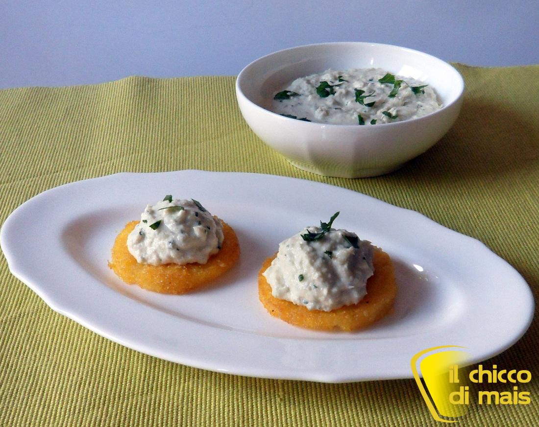 8 Antipasti fingerfood per Natale raccolta ricette il chicco di mais crostini di polenta e baccalà