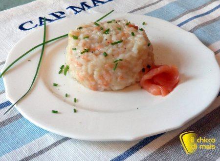 Risotto al salmone e yogurt (ricetta raffinata)