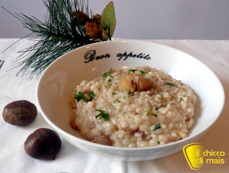 10 primi per Natale ricette vegetariane il chicco di mais risotto alle castagne