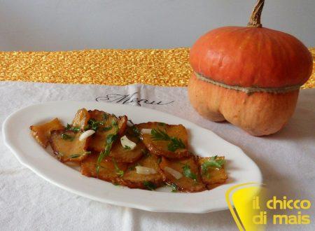 Zucca in agrodolce (ricetta contorno)