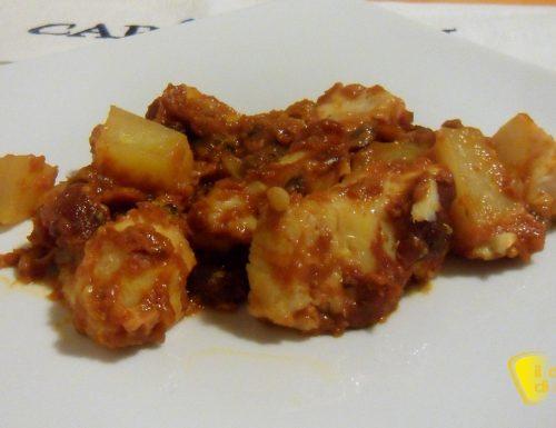 Baccalà alla napoletana (ricetta economica)