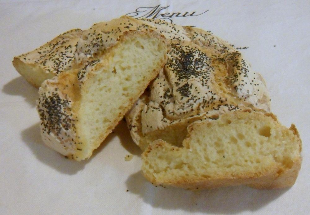 Centrotavola fai da te corona di pane il chicco di mais interno