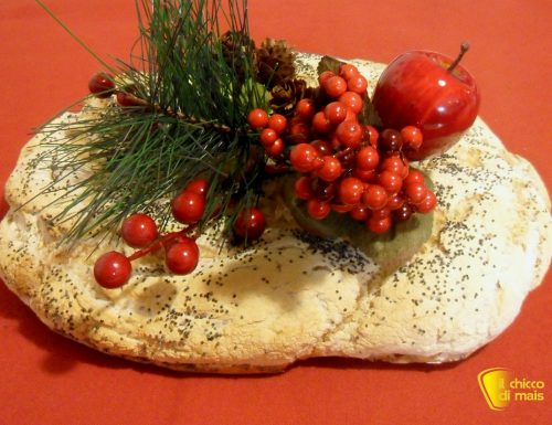 Centrotavola fai da te: corona di pane