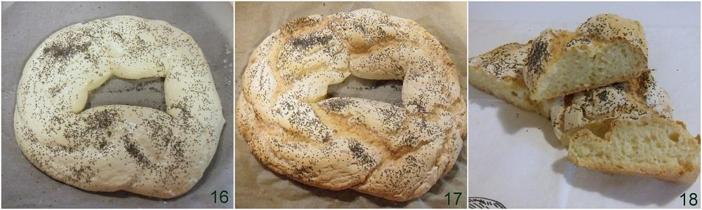 Centrotavola fai da te corona di pane il chicco di mais 6