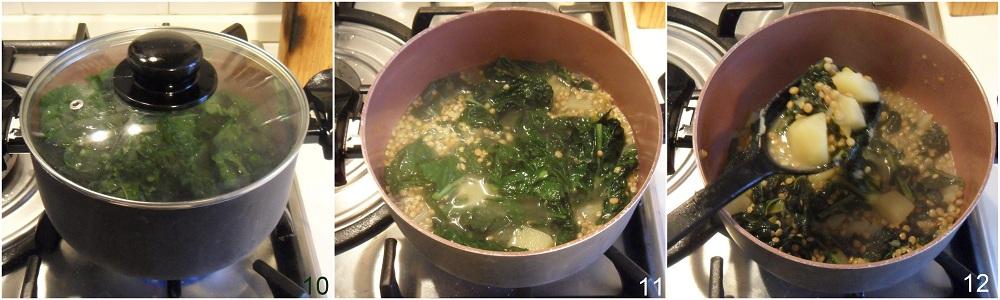 Zuppa di lenticchie e cavolo nero allo zafferano ricetta vegan il chicco di mais 4