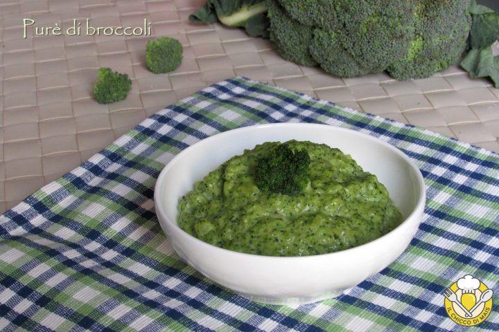 purè di broccoli ricetta contorno facile per far mangiare i broccoli ai bambini il chicco di mais