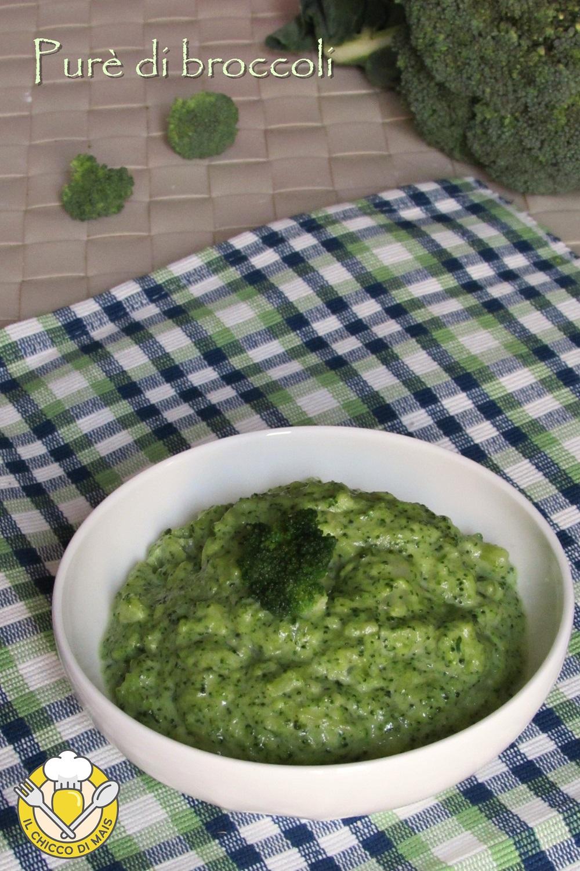 verticale_purè di broccoli ricetta contorno facile per far mangiare i broccoli ai bambini il chicco di mais