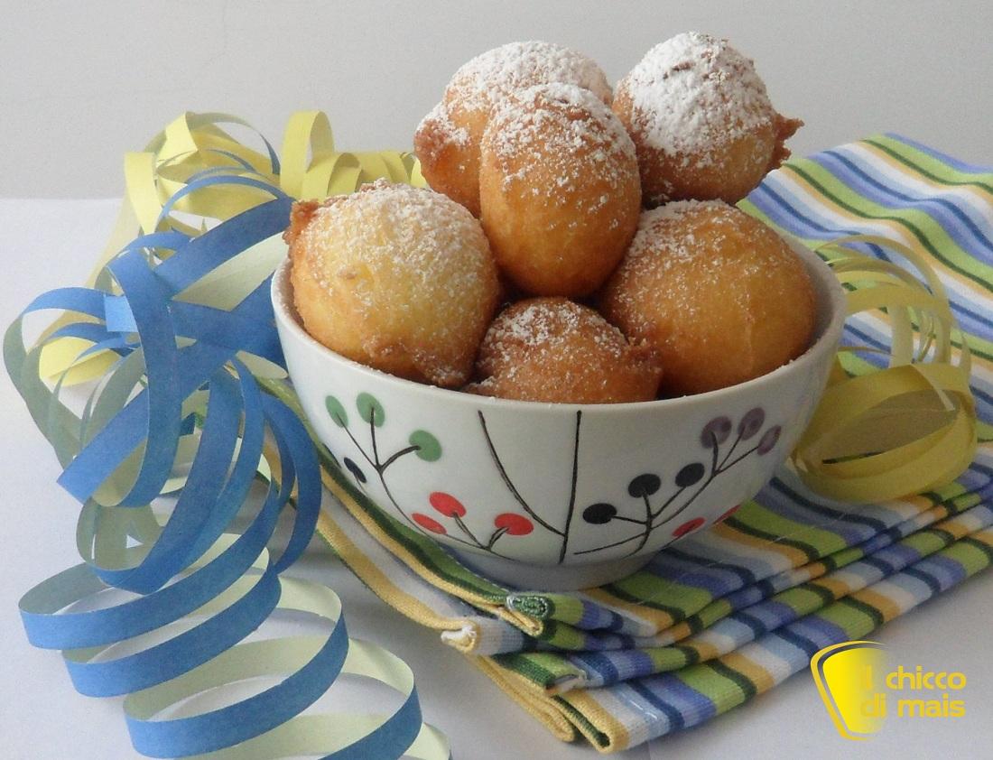 raccolta di ricette dolci di carnevale castagnole alla ricotta il chicco di mais