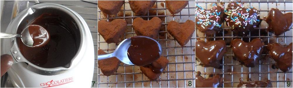 Dolcetti al cioccolato e nocciole ricetta San Valentino il chicco di mais 3