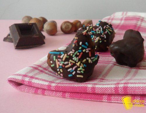 Dolcetti al cioccolato e nocciole (ricetta San Valentino)