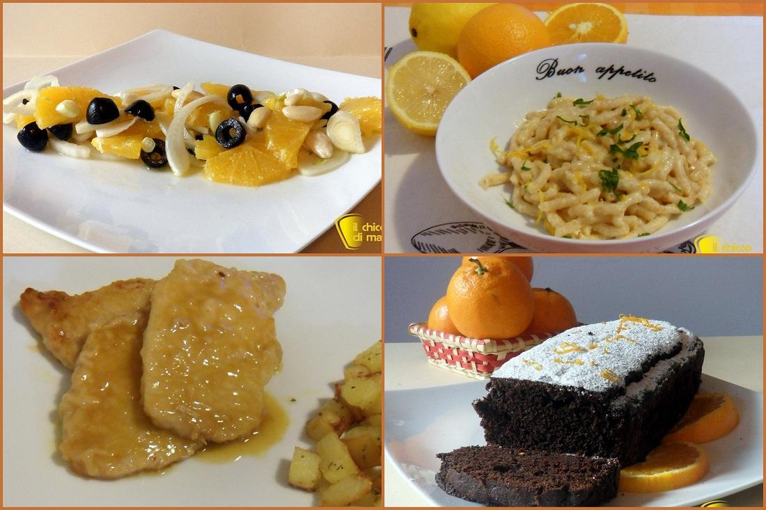 Il menu della salute raccolta di ricette con le arance il chicco di mais