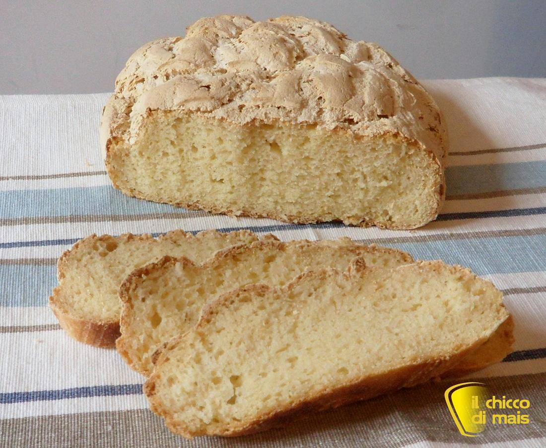 Pane senza glutine a lunga lievitazione ricetta con LM il chicco di mais