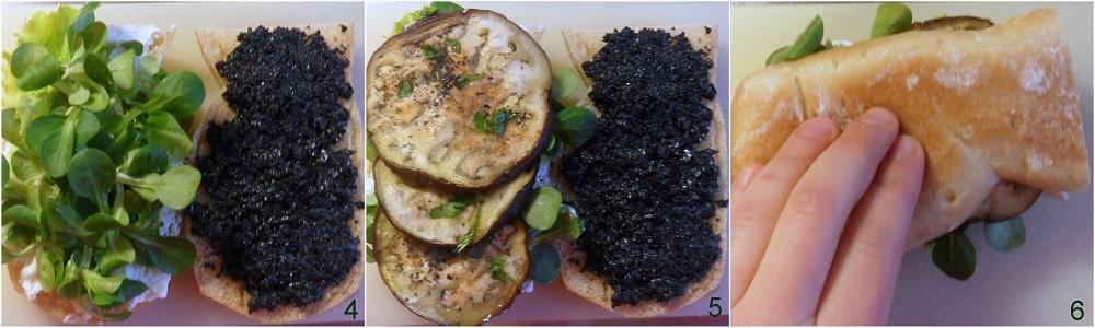 Preferenza Panino vegetariano (ricetta pausa pranzo) UL02