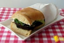 Panino vegetariano (ricetta pausa pranzo)
