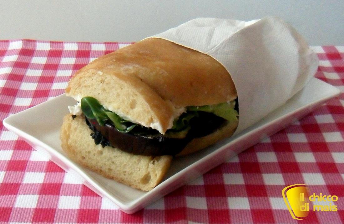Ricette con melanzane facili e veloci il chicco di mais panino vegetariano