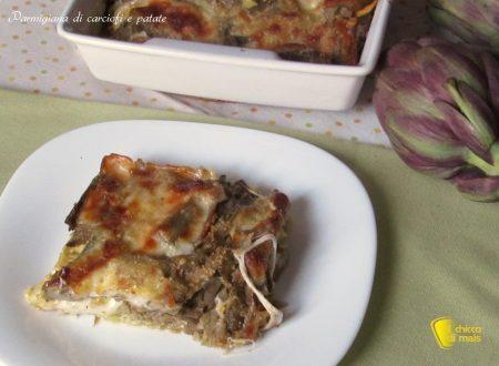 Parmigiana di carciofi e patate (ricetta vegetariana)