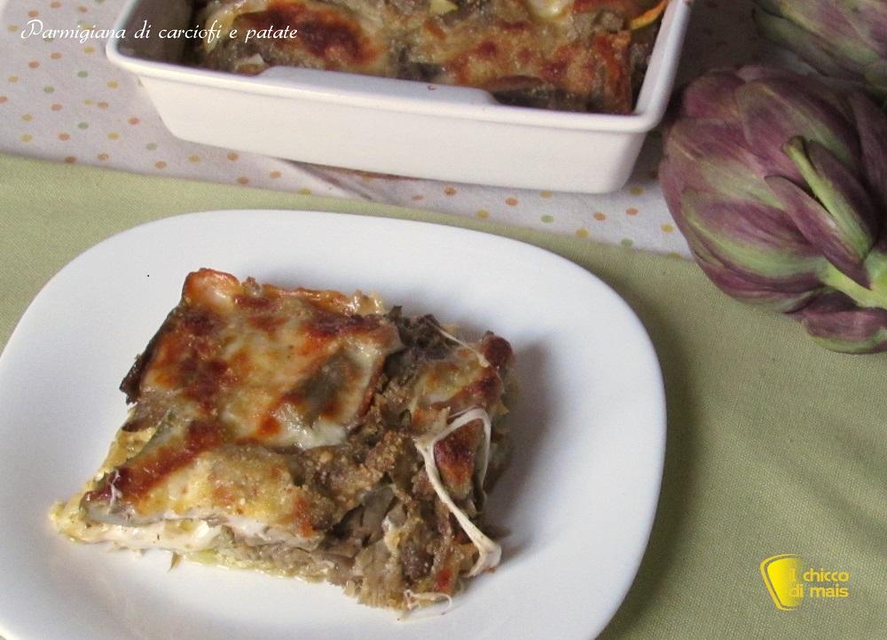 ricette con carciofi facili e veloci parmigiana di carciofi e patate