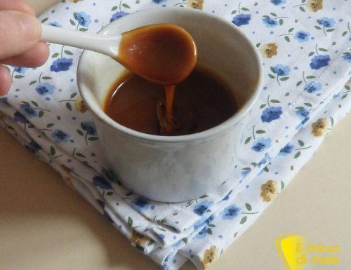 Salsa mou (ricetta per guarnire dolci e gelati)