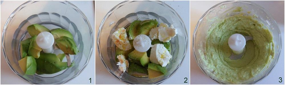Tartine con crema di avocado e pomodori secchi Il chicco di mais 1