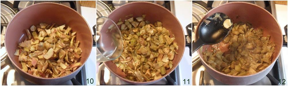 Bignè salati con mousse di carciofi ricetta antipasto il chicco di mais 4