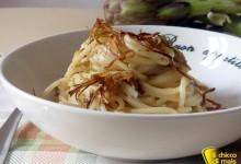 Cacio e pepe con carciofi croccanti (ricetta rivisitata)