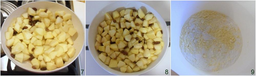 Crumble di mele ricetta dolce inglese il chicco di mais 3