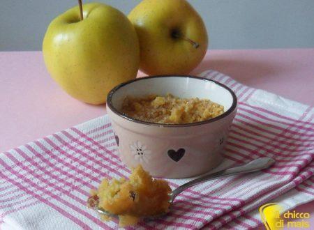 Crumble di mele (ricetta dolce inglese)